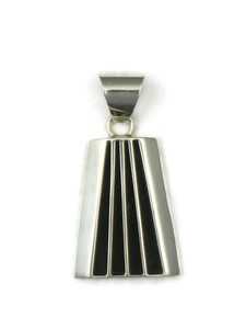 Sterling Silver Channel Pendant by Francis Jones