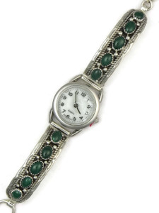 Malachite Toggle Watch Bracelet by Thomas Francisco