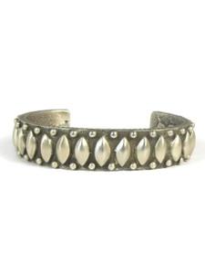 Silver Tufa Cast Bracelet by Ernest Rangel (BR5584)
