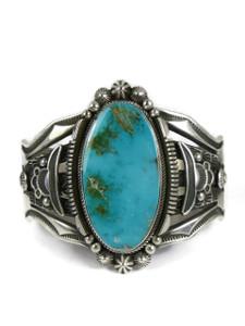 Royston Turquoise Bracelet by Aaron Toadlena