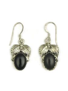 Silver Onyx Earrings