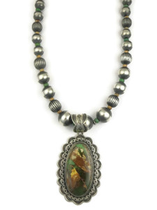 Royston Boulder Turquoise Necklace by Happy Piaso
