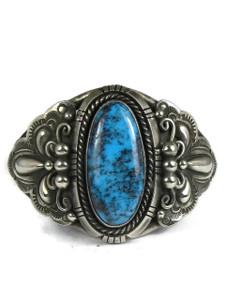 Natural Chinese Turquoise Bracelet by Fritson Toledo