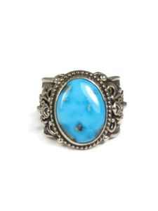 Sleeping Beauty Turquoise Ring Size 11 by Fritson Toledo (RG3758)