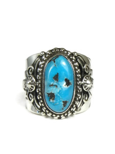 Sleeping Beauty Turquoise Ring Size 10 1/2 by Fritson Toledo