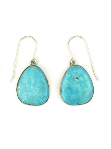 Kingman Turquoise Earrings by Lyle Piaso (ER3998)