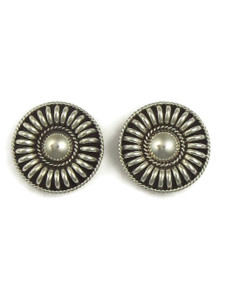 Sterling Silver Post Earrings by Thomas Charley