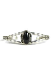 Silver Onyx Bracelet (BR6107)