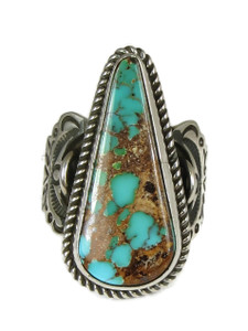 Royston Turquoise Ring with Angels Size 9 by Albert Jake (RG4989)