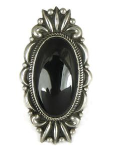 Large Black Onyx Ring Size 8 by Albert Jake