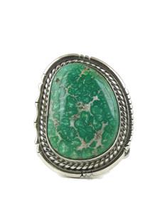 Arizona South Hills Turquoise Ring Size 10 1/2 by Joe Piaso