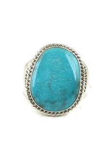 Candalaria Turquoise Ring Size 10 1/4 by Joe Piaso Jr. (RG5028)
