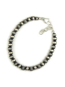 Silver Bead Bracelet (BR6077)
