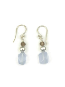 Chalcedony Bead Earrings (ER5116)
