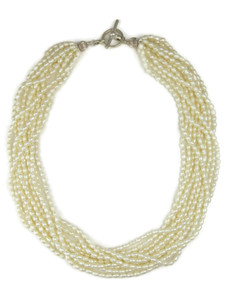 Ten Strand Seed Bead Pearl Necklace