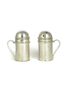 Silver Salt & Pepper Shaker Set