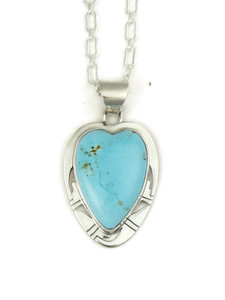 Sierra Nevada turquoise heart pendant