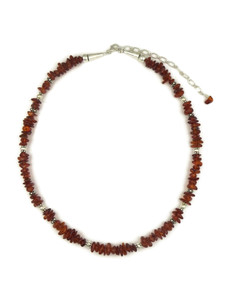 Amber Bead Necklace (NK4542)
