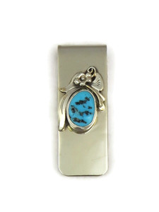 Kingman Turquoise Money Clip (MC554)