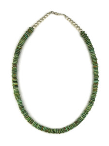 Green Emerald Valley Turquoise Bead Necklace (NK4557)