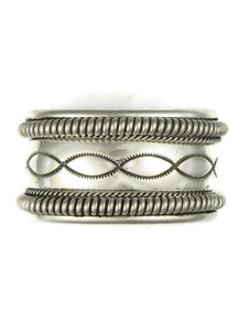 Silver Cuff Bracelet by the Tahe Family (BR6131)