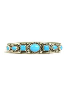 Sleeping Beauty Turquoise Row Bracelet (BR6136)
