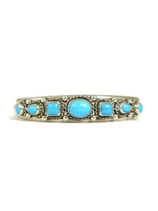 Sleeping Beauty Turquoise Row Bracelet (BR6136)