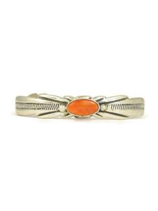 Spiny Oyster Shell Bracelet by Wilson & Carol Begay (BR6139)