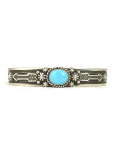 Sleeping Beauty Turquoise Bracelet with Arrows by Happy Piaso (BR6158)