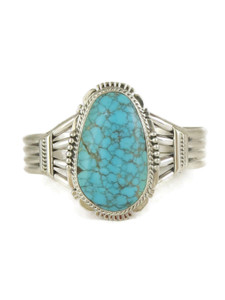 Number 8 Turquoise Bracelet by John Nelson (BR6170)