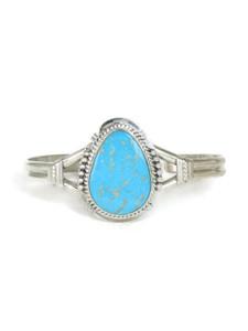 Kingman Turquoise Bracelet by John Nelson (BR6188)