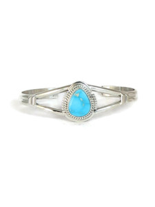 Kingman Turquoise Bracelet by Larson Lee (BR6197)