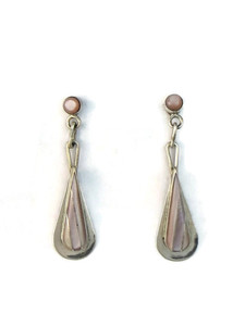 Pink Mother of Pearl Inlay Earrings (ER5156)