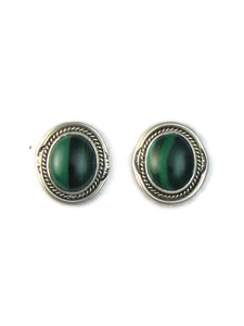 Malachite Post Earrings by Lucy Jake (ER5165)