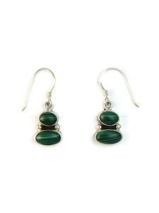 Malachite Dangle Earrings (ER5167)
