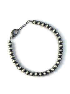 Silver 6mm Bead Bracelet (BR6214)
