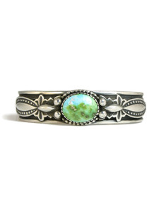 Sonoran Gold Turquoise Bracelet by Albert Jake (BR6217)