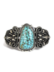 Kingman Turquoise Bracelet by Derrick Gordon (BR6220)