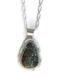 Number 8 Turquoise Pendant by Jake Sampson (PD4153)