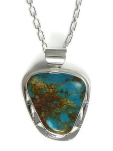 Royston Turquoise Pendant by Phillip Sanchez (PD4171)