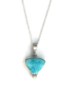 Kingman Turquoise Pendant by Marla Monte (PD4177)