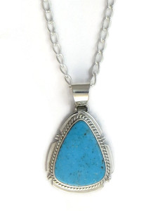 Kingman Turquoise Pendant by Larson Lee (PD4178)