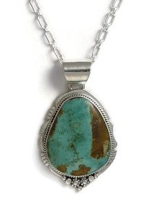 Manassa Turquoise Pendant by Lucy Jake (PD4199)