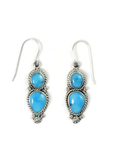 Sonoran Turquoise Earrings by Lucy Jake (ER5243)