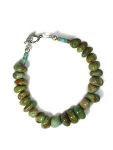 Emerald Valley Turquoise Bead Bracelet by Julian Coriz (BR6229)