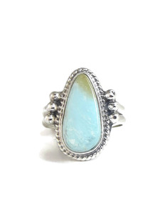 Dry Creek Turquoise Ring Size 7 by Burt Francisco (RG4414)