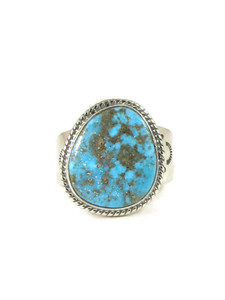 Kingman Turquoise Ring Size 13 by Lyle Piaso (RG4423)