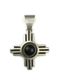 Onyx Zia Pendant by Ronnie Willie (PD4207)
