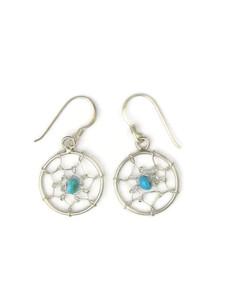 Turquoise Dream Catcher Earrings (ER5346)