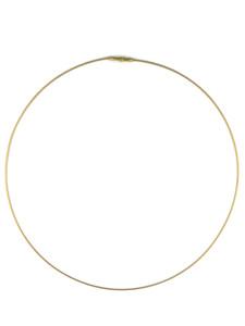 14k Gold Rolled Omega Necklace (NK4592)